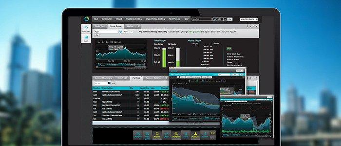 Vertical spread option trade