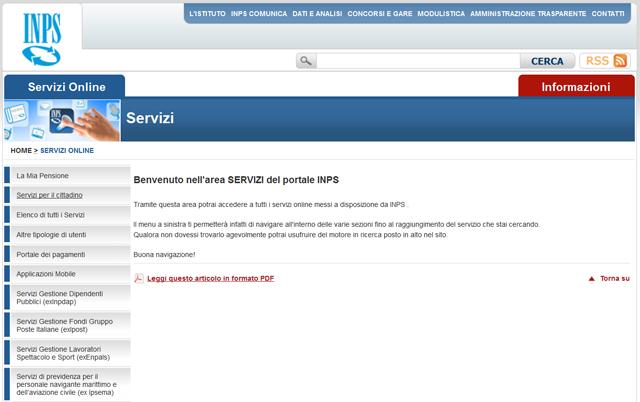 Richiesta del pin inps online come fare for Inps servizi per aziende e consulenti